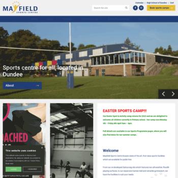 Mayfieldsportscentre.co.uk thumbnail
