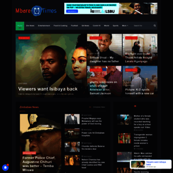 Mbaretimes.com thumbnail
