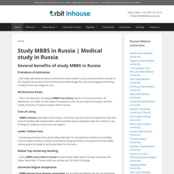 Mbbsrussia.org thumbnail