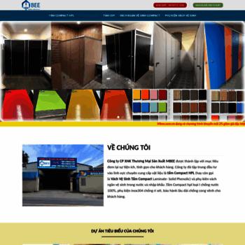 Веб сайт mbee.com.vn