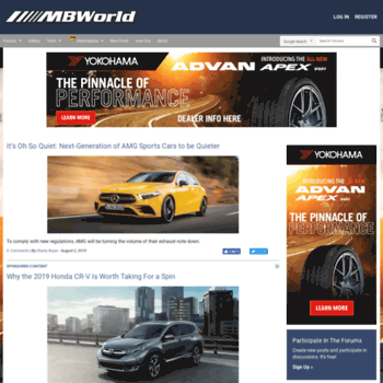 mbworld org at WI  Mercedes-Benz Forum, News, and Reviews