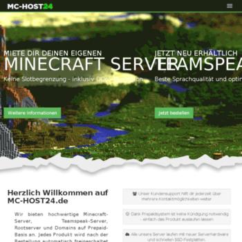 Mc-host24.de thumbnail