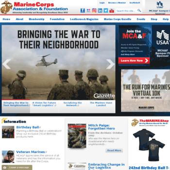 Mca-marines.com thumbnail