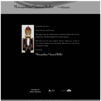 Mcballet.org thumbnail