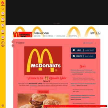 Mcdonalds.wikia.com thumbnail