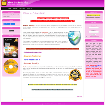 mce pc security free download