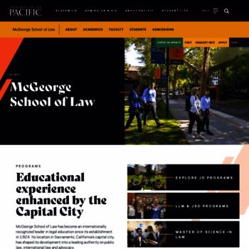 Mcgeorge.edu thumbnail