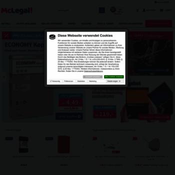 Mclegal.de thumbnail