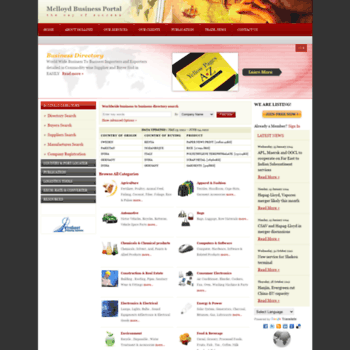 mclloydbis com at WI  Mclloyd Business Portal: Business