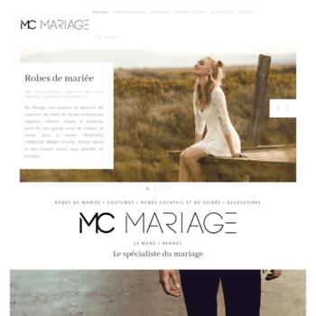 Mcmariage.fr thumbnail