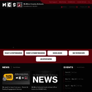 Mcminnschools.com thumbnail
