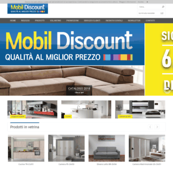 mdsmobildiscount.it at WI. MDS Mobil Discount | Via Treviso, 100 ...