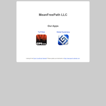 meanfreepath com at WI  JavaScript Calendar for AJAX Developers