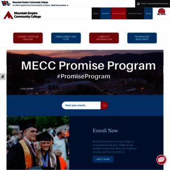 Mecc.edu thumbnail