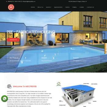 Mecprefab.co.in thumbnail