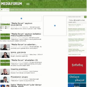 Mediaforum.az thumbnail