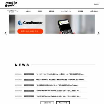 Mediaseek.co.jp thumbnail