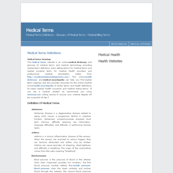 Medical-terms.net thumbnail