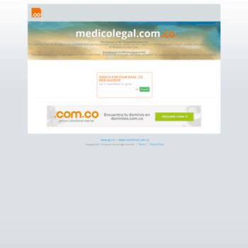 Medicolegal.com.co thumbnail