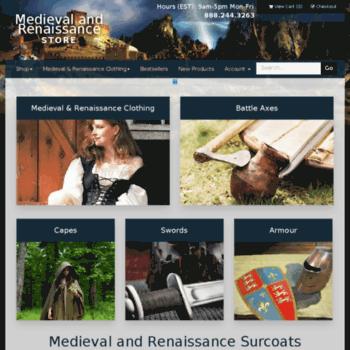 56c7cc62745 medievalandrenaissancestore.com at WI. Medieval and Renaissance ...