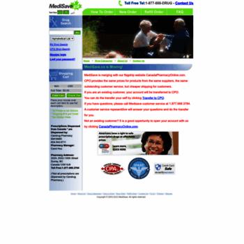Medisave.ca thumbnail