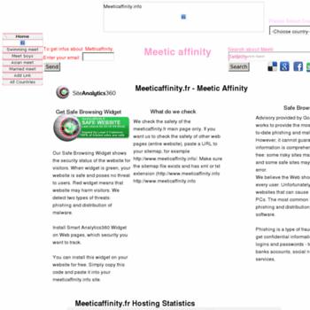 Meeticaffinity.info thumbnail