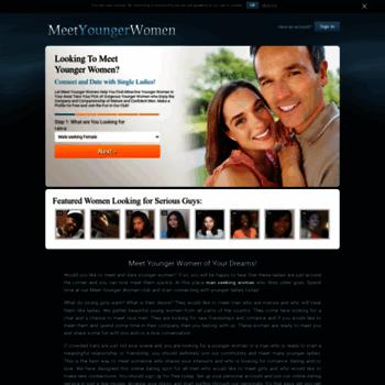 meet younger women