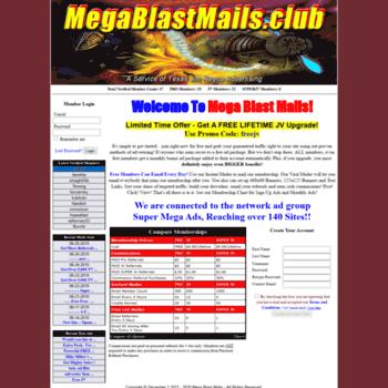 Megablastmails.club thumbnail