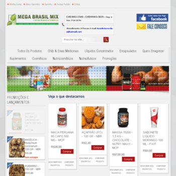 Megabrasilmix.com.br thumbnail