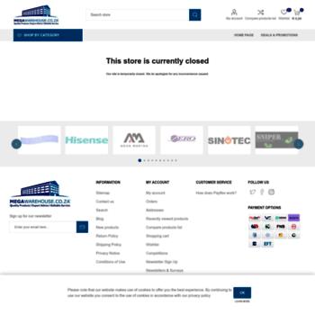 Megawarehouse.co.za thumbnail