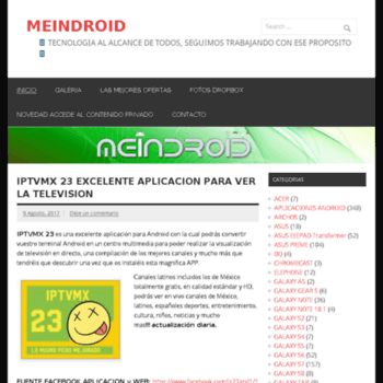meindroid net at Website Informer  Visit Meindroid