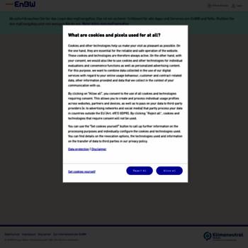 enbw online login