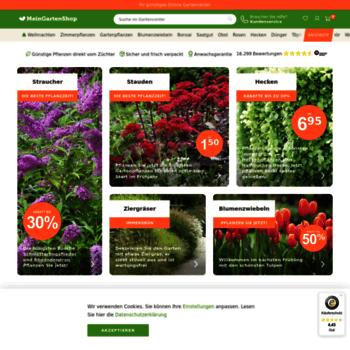 Meingartenshopde At Wi Meinggartenshop Ihre Online Gärtnerei Für