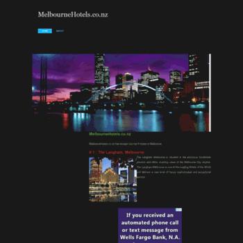 Melbournehotels.co.nz thumbnail