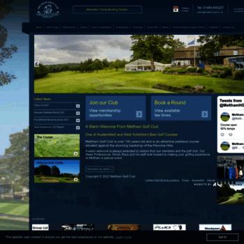 Meltham-golf.co.uk thumbnail