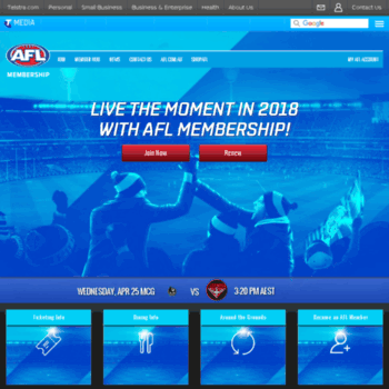 membership afl com au at WI  Official Australian Football