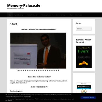 Memory-palace.de thumbnail