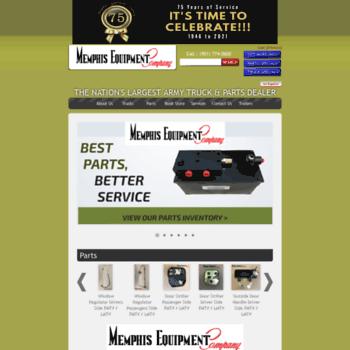 memphisequipment com at WI  Military vehicles for sale, surplus