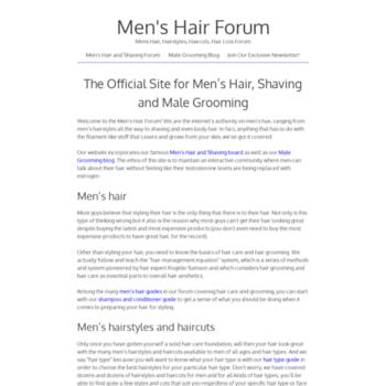 Menshairforum.com thumbnail