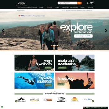 mercadoaventura.com.br at WI. Mercado Aventura Esporte e Lazer  85b8cb2af5895