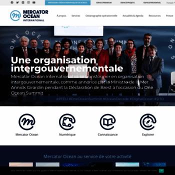 Mercator-ocean.fr thumbnail