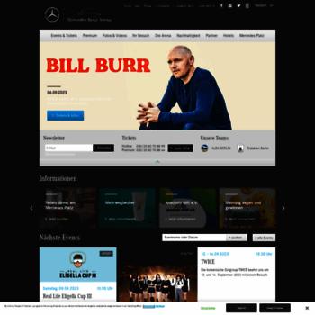 Mercedes-benz-arena-berlin.de thumbnail