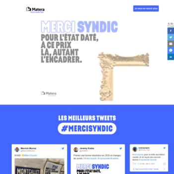Mercisyndic.fr thumbnail
