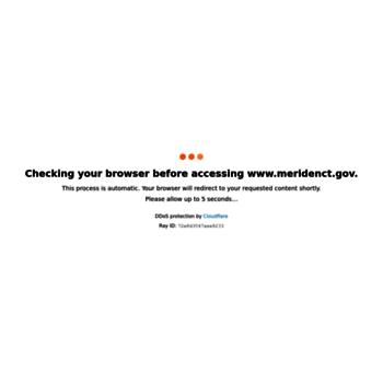 Meridenct.gov thumbnail