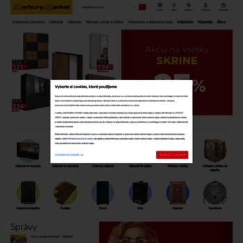 087c9fbeb675 merkurymarket.sk at WI. Merkury Market – Stavaj a renovuj lacnejšie!