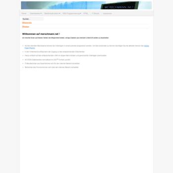Merschmann.net thumbnail