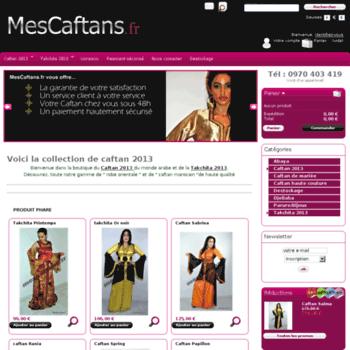 Mescaftans.fr thumbnail