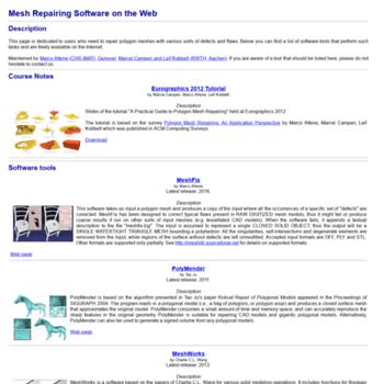 Meshrepair.org thumbnail