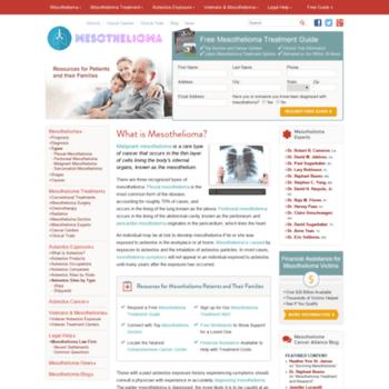Mesothelioma-prognosis.net thumbnail