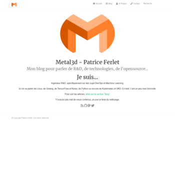 Metal3d.org thumbnail